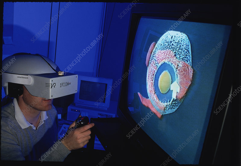 Eye surgery VR system, HIT lab, Washington