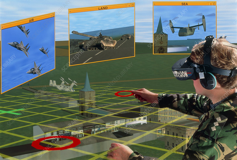 Virtual Reality in military command