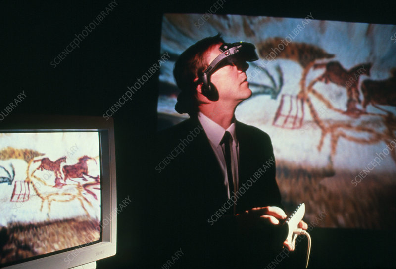 Benjamin Britton visits his virtual Lascaux Cave