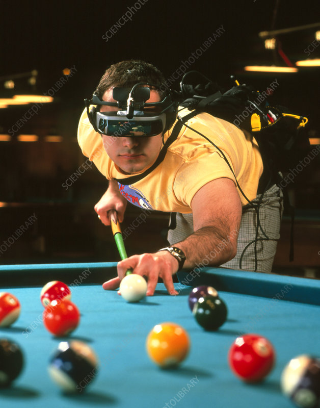 Snooker goggles