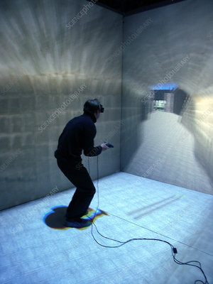 Virtual reality display, Mont St Michel