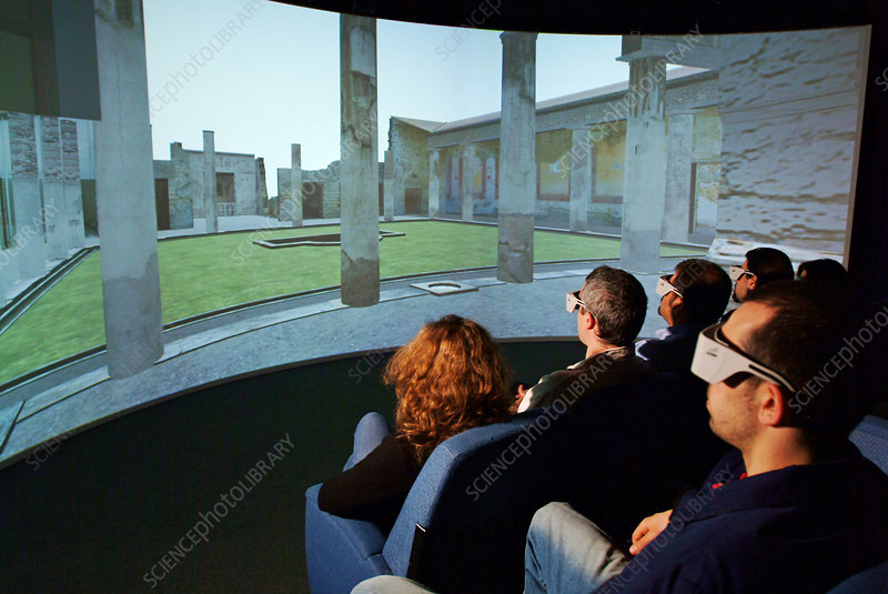 Virtual reality archaeology, Pompeii