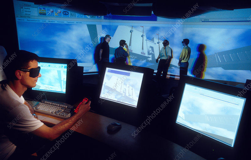 Virtual reality display, Circus Maximus