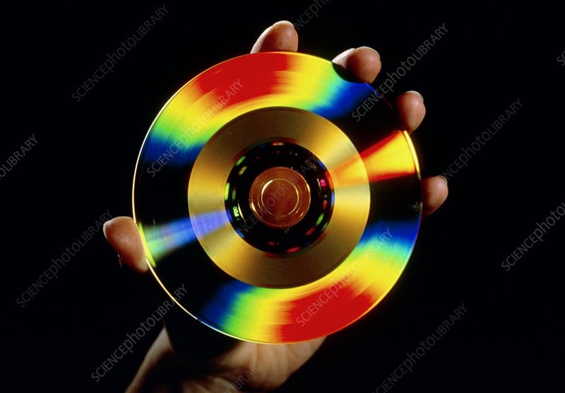 5-inch golden CD videodisc