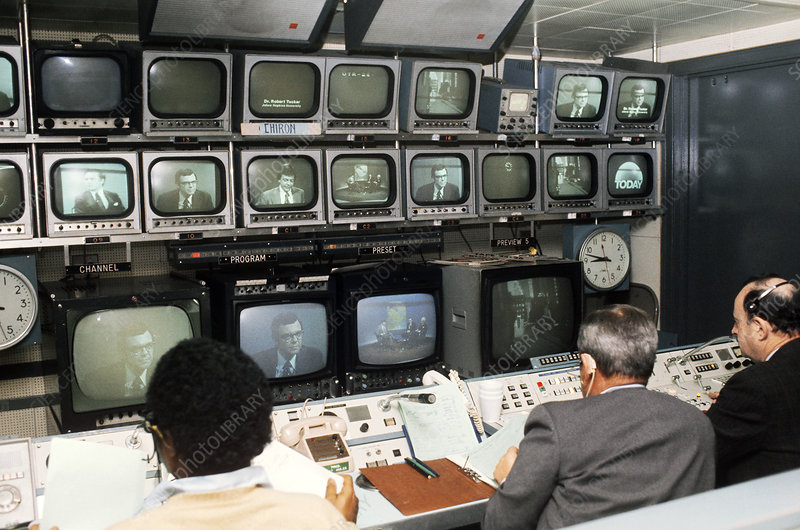 Television Control Room