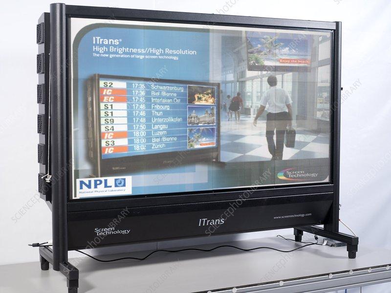 Large screen technology