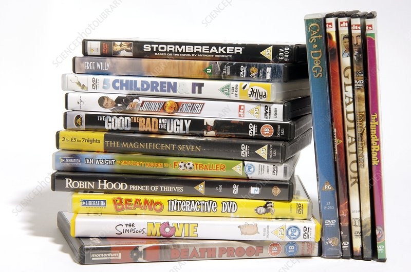 Movie DVDs