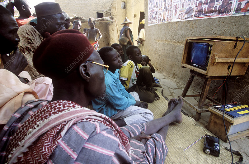 Communal television