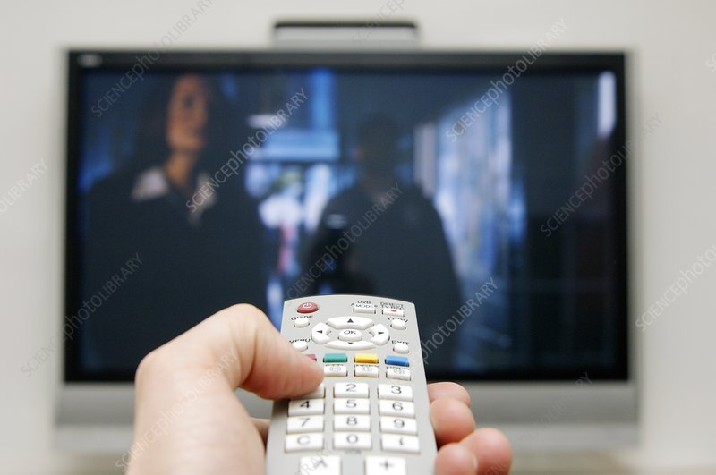 Using a television remote control