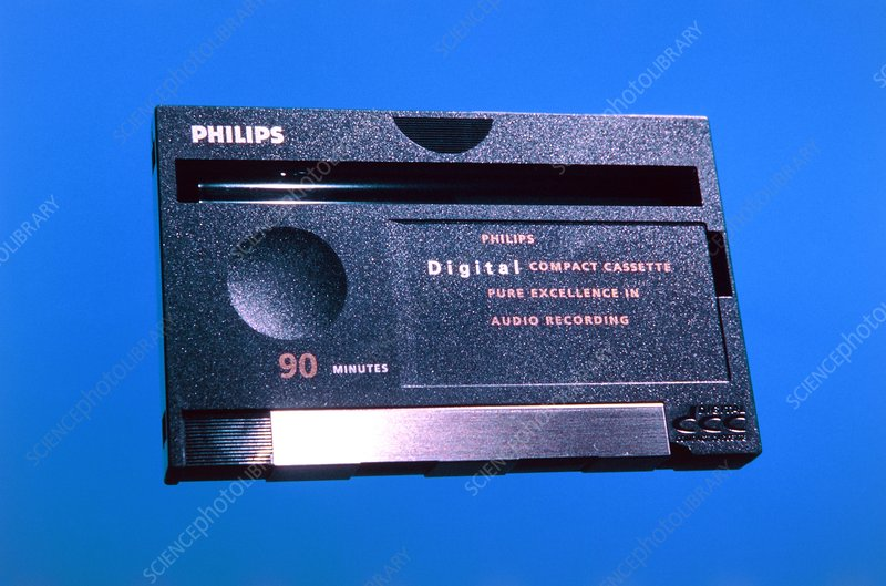Philips DCC 90 min Digital Compact Cassette USED