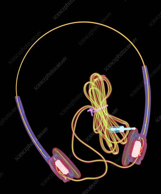 Headphones X-ray
