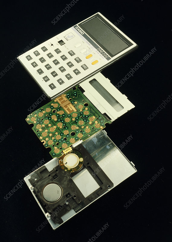 Pocket calculator internals