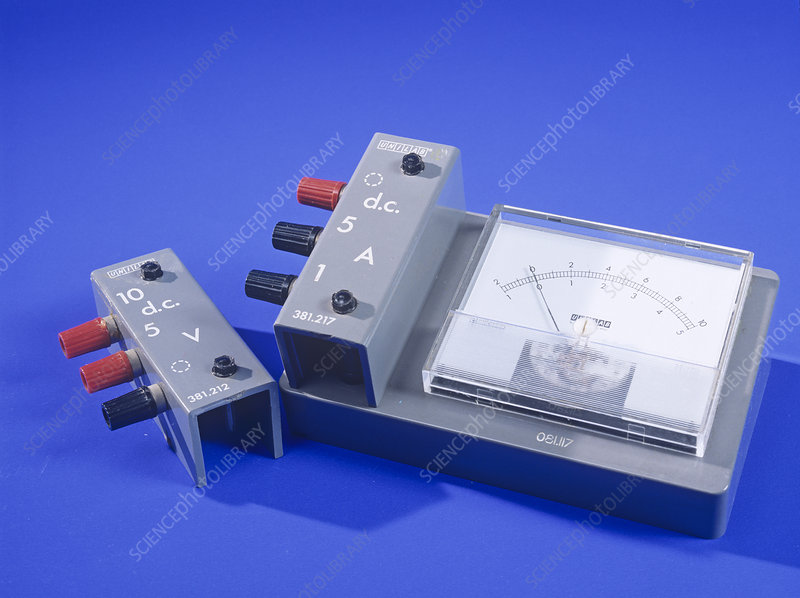 Ammeter and voltage multiplier