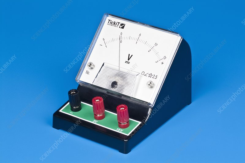 Analogue voltmeter