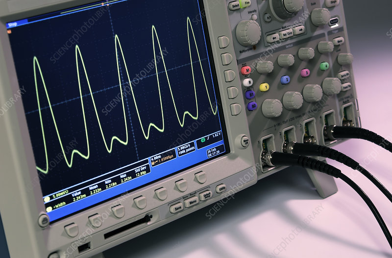 Modern Digital Oscilloscope