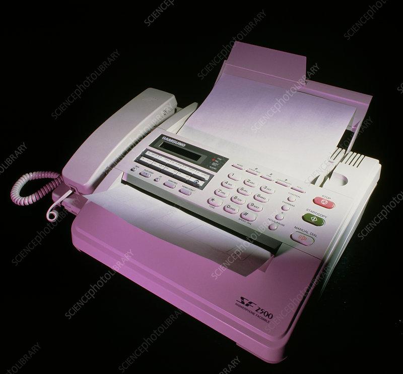 send document to fax machine