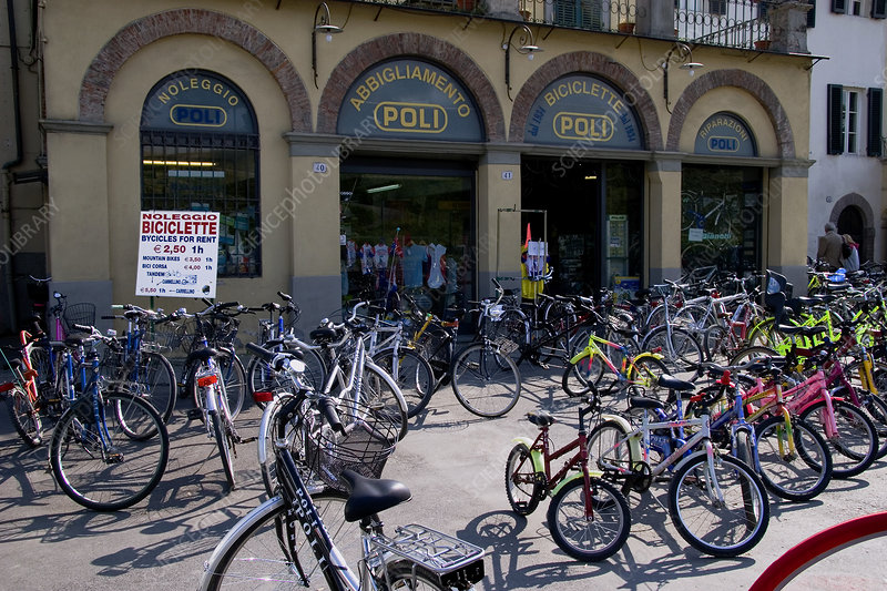 Bicycle hire centre
