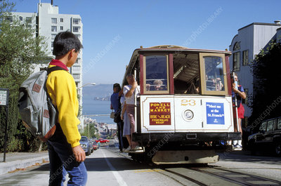 'Cable Car, San Francisco'
