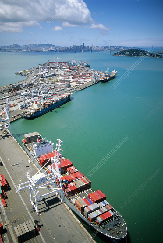 Port of Oakland, California