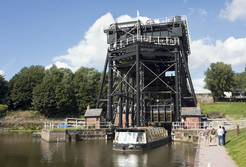 Anderton Boat Lift, Cheshire, UK