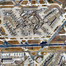 Heathrow Airport, UK, aerial image