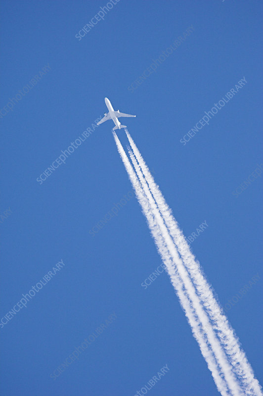Aircraft contrail
