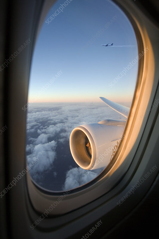 Aeroplane window