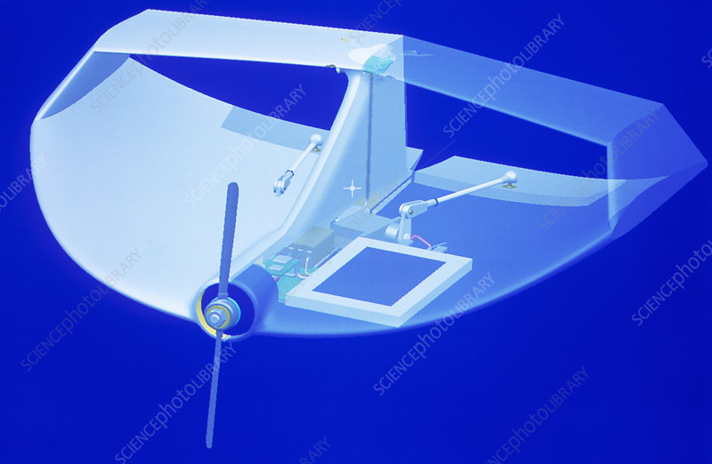 Miniature unmanned aerial vehicle (UAV)