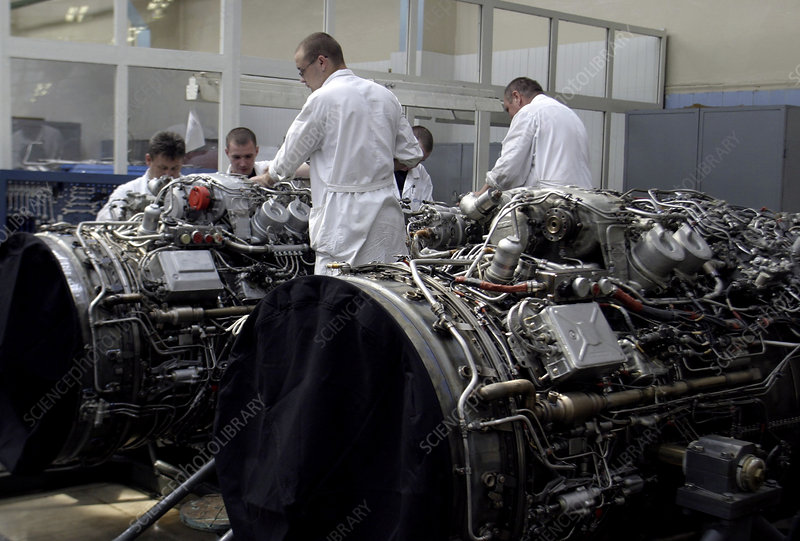 Aircraft engine construction