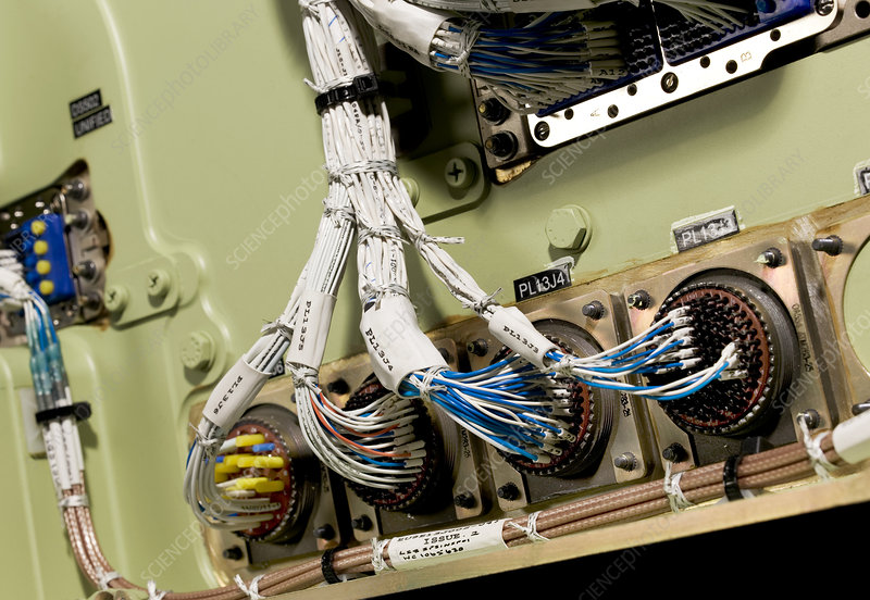 aircraft wiring stock image t612 0367 science photo. Black Bedroom Furniture Sets. Home Design Ideas