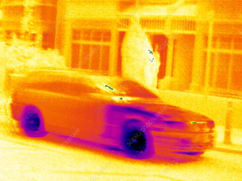 Car, thermogram