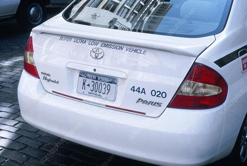 Toyota Prius Hybrid Car. Toyota Prius, hybrid