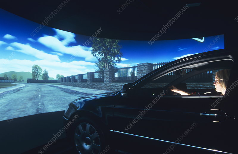 volkswagen simulator stock image t615 0296 science photo library. Black Bedroom Furniture Sets. Home Design Ideas