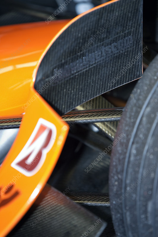 Formula One car bodywork
