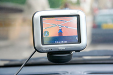 Car satellite navigation system