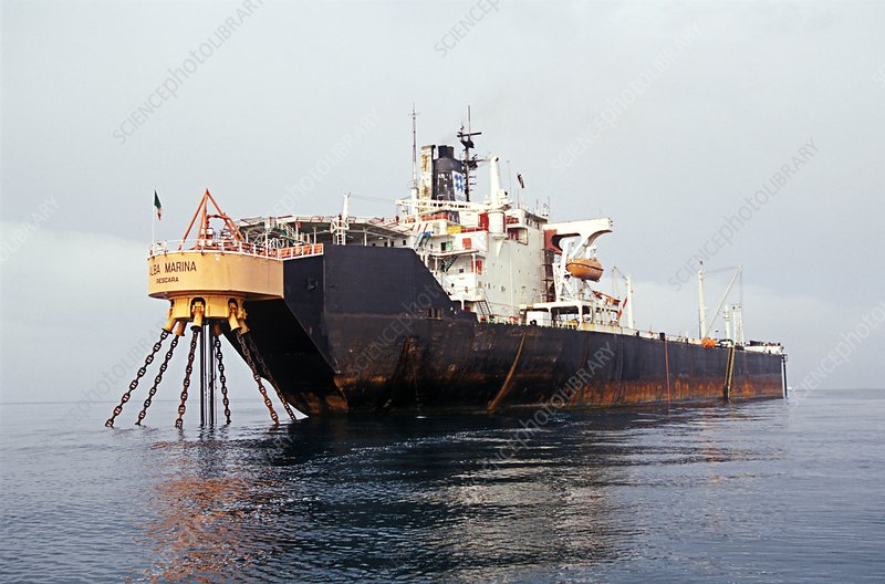 Oil storage tanker