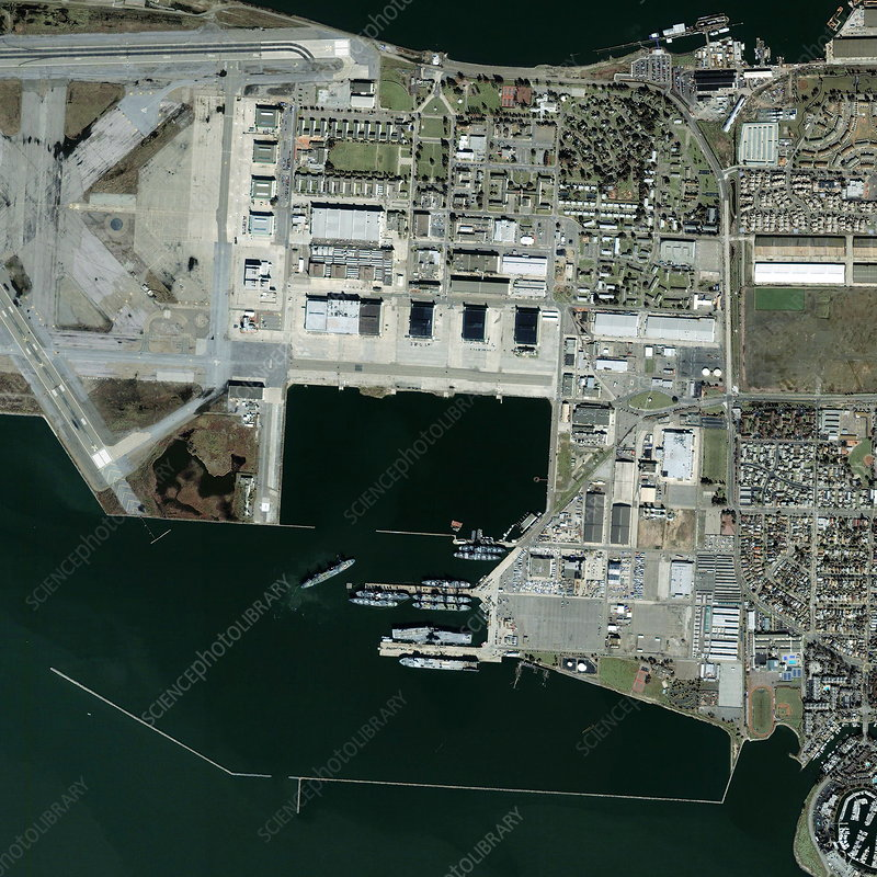 Alameda Point, former US Navy base