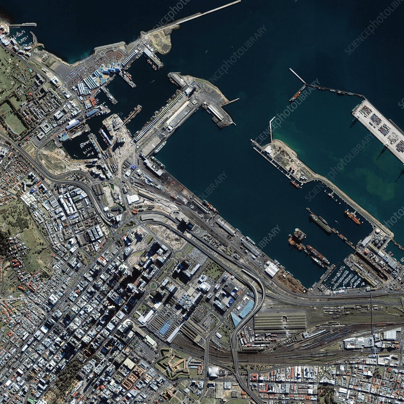 Cape Town docks, South Africa