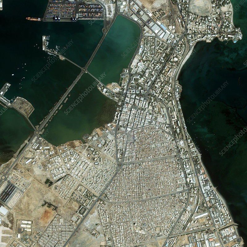 Djibouti City port, Africa