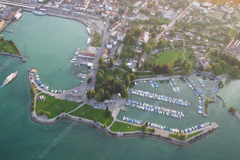 Romanshorn harbour, Switzerland