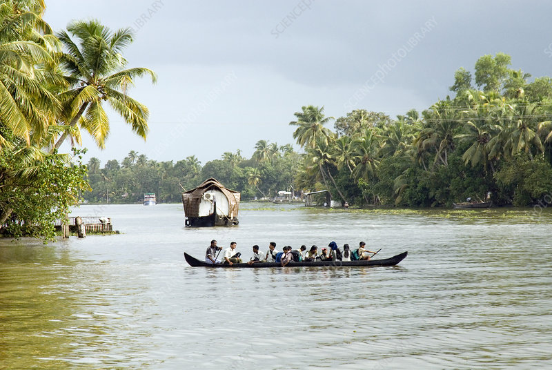 River taxi, Kerala, India