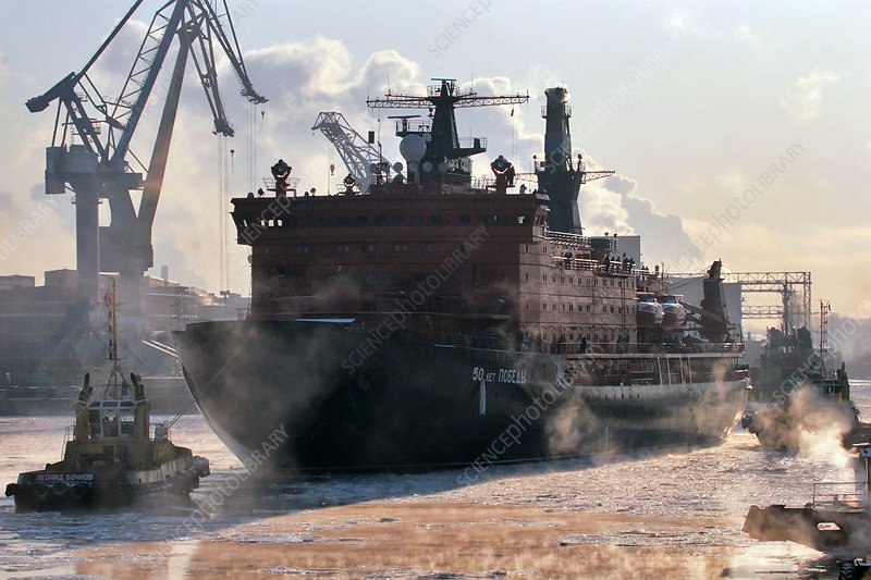 Nuclear-powered icebreaker, Russia