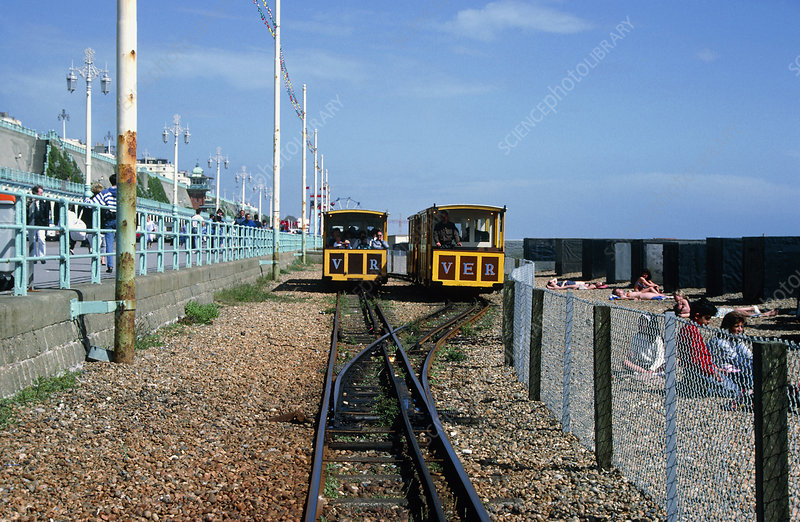 World's first electric railway, England