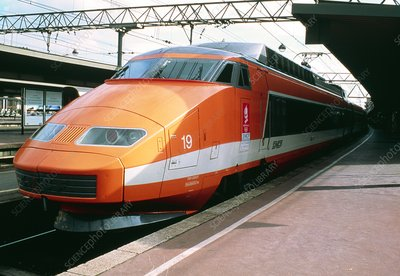 French TGV train