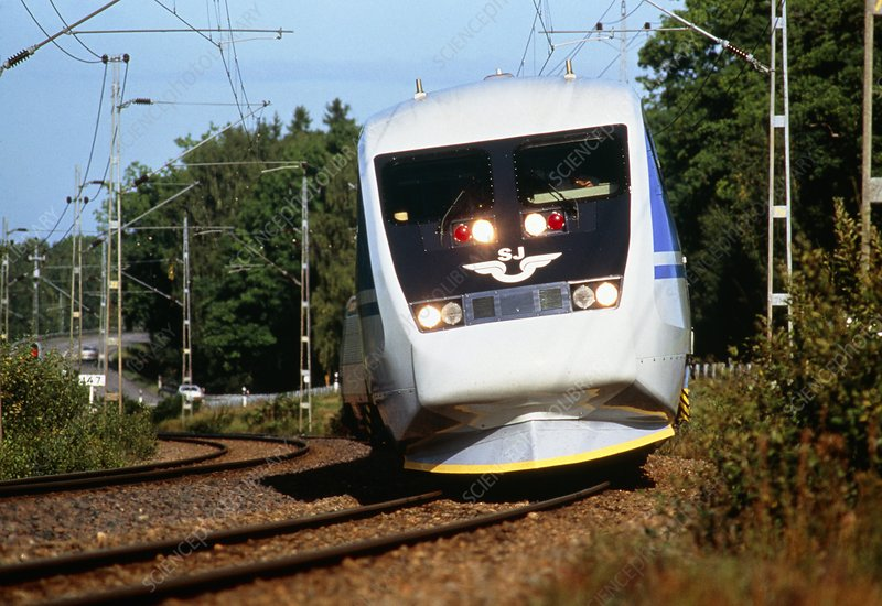 Swedish X2000 high-speed train
