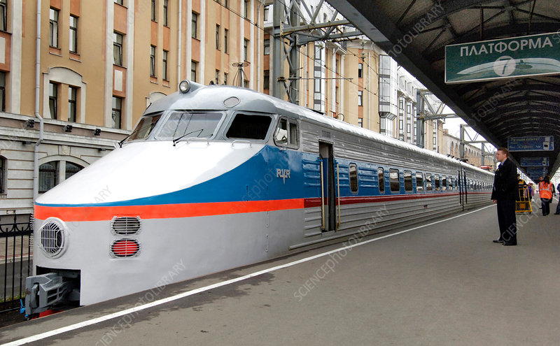 St Petersburg-Moscow fast train