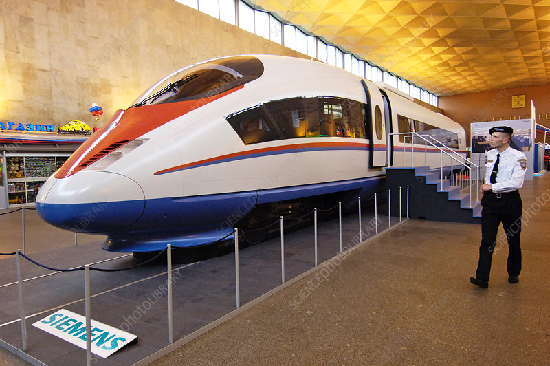Prototype Siemens high-speed train