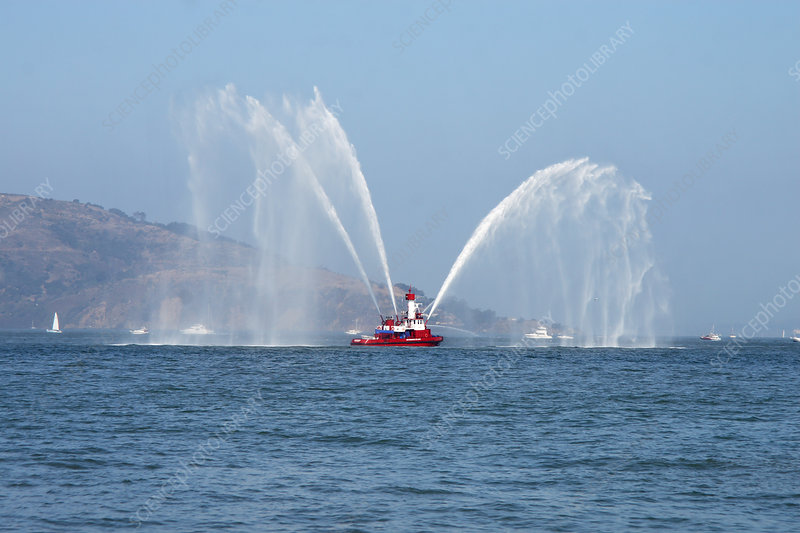 A Fire Boat