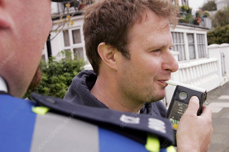 Road-side breathalyser
