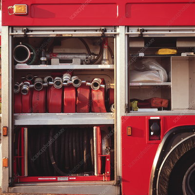 Fire engine hoses